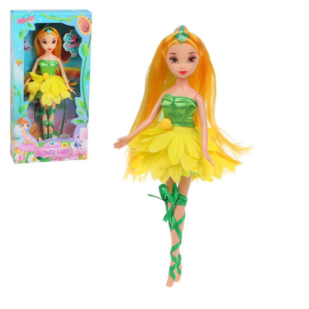 Фото - Кукла Наша Игрушка Flower fairy, 23 см кукла наша игрушка на прогулке 15 см лошадка