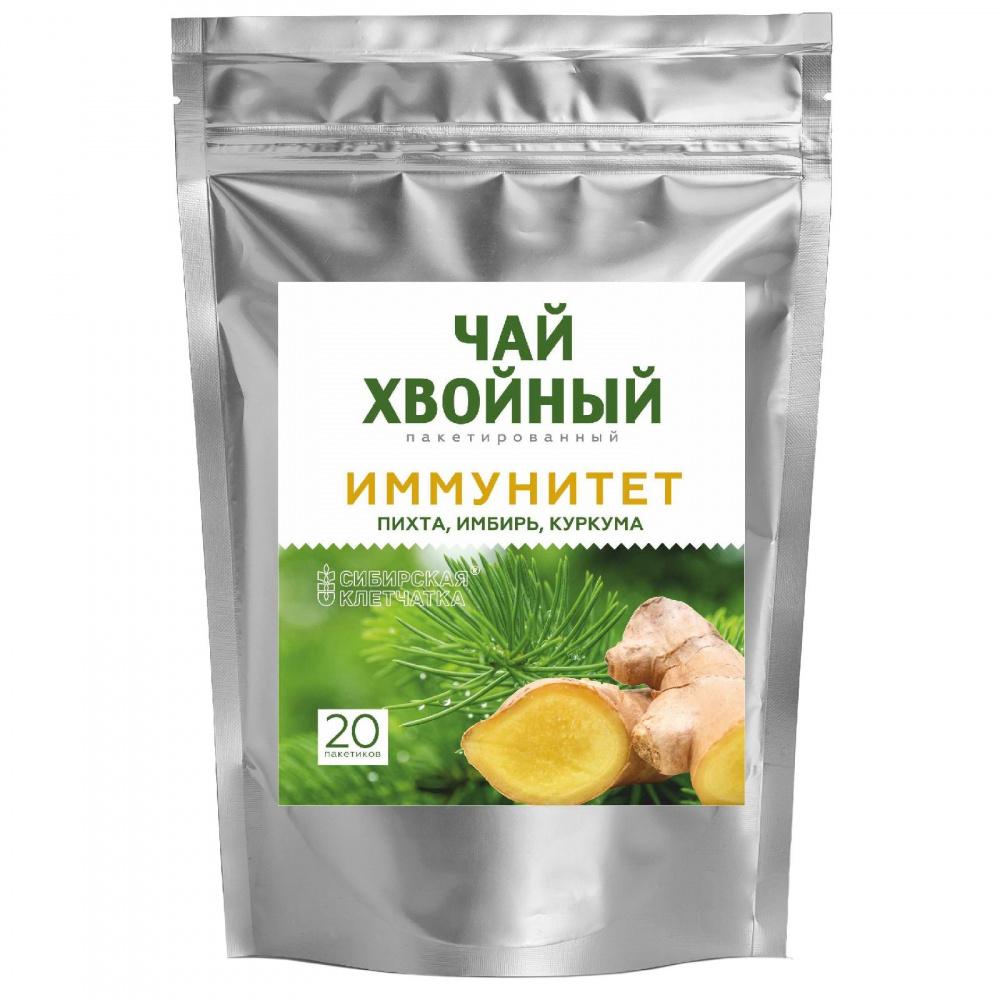Хвойный чайный напиток Сибирская клетчатка
