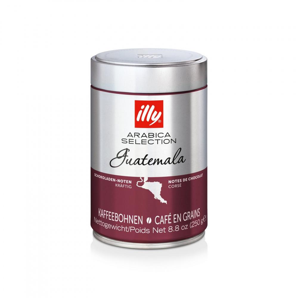 Фото - Кофе зерновой Illy Guatemala, арабика средней обжарки, 250 г кофе в зернах illy гватемала 250 г