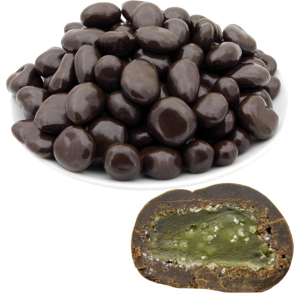 Имбирь в темной шоколадной глазури, 500 г, ТМ
