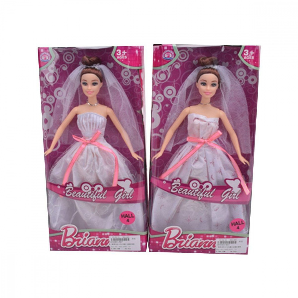 Фото - Кукла в свадебном платье, 30 см, ТМ Наша Игрушка кукла наша игрушка на прогулке 15 см лошадка