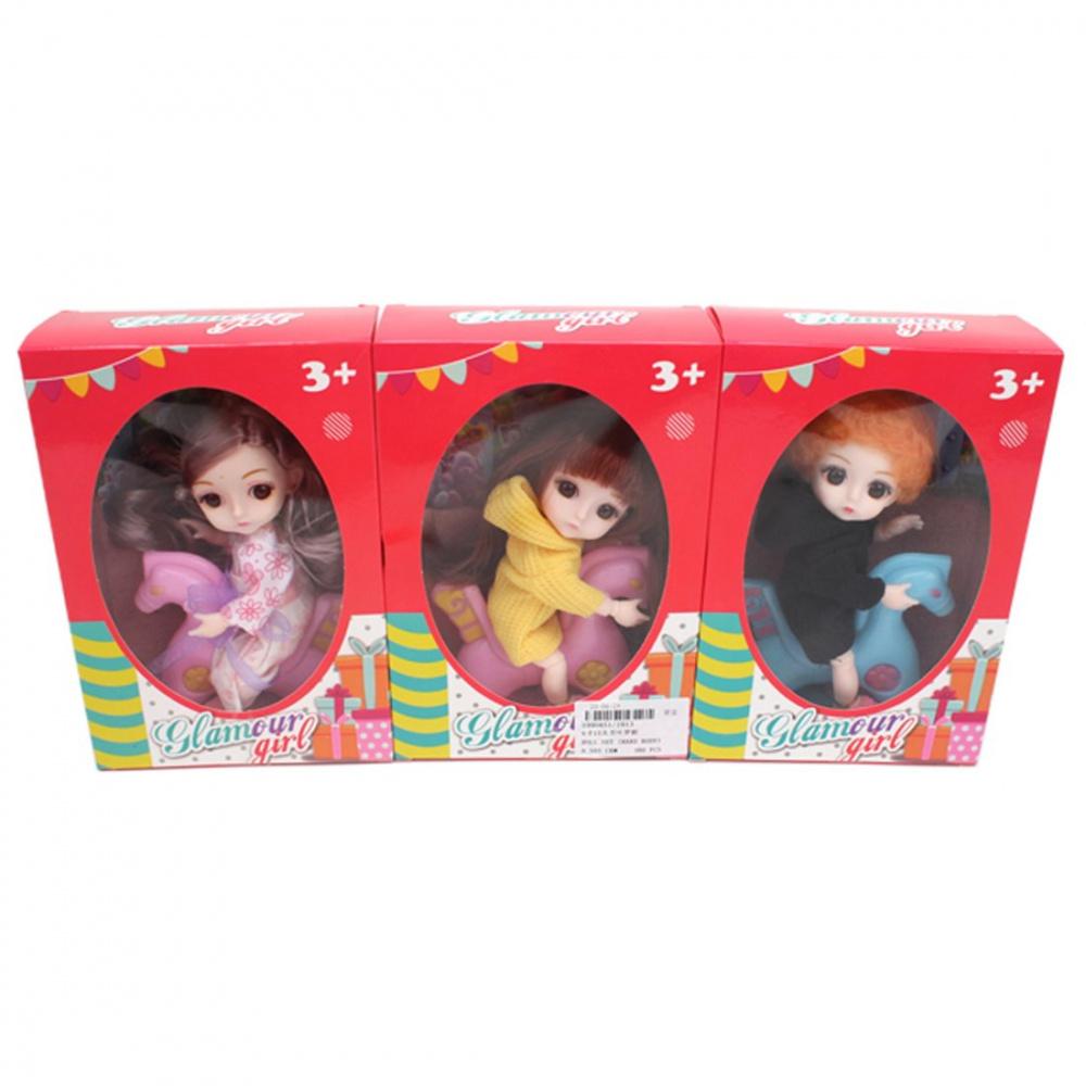 Фото - Кукла Наша Игрушка На прогулке, 15 см, лошадка кукла наша игрушка на прогулке 15 см лошадка