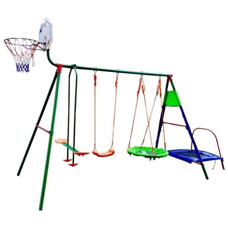 Комплекс игровой Dfc, с батутом и баскетболом (арт MTB-01)