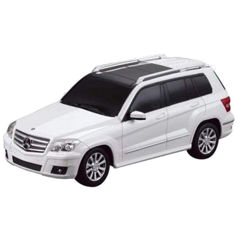 """Машина на радиоуправлении Rastar """"Mercedes GLK"""", цвет: белый, 40MHZ, 1:24"""