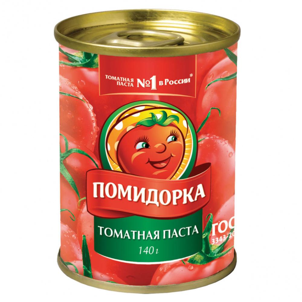 Томатная паста Помидорка, 140 г
