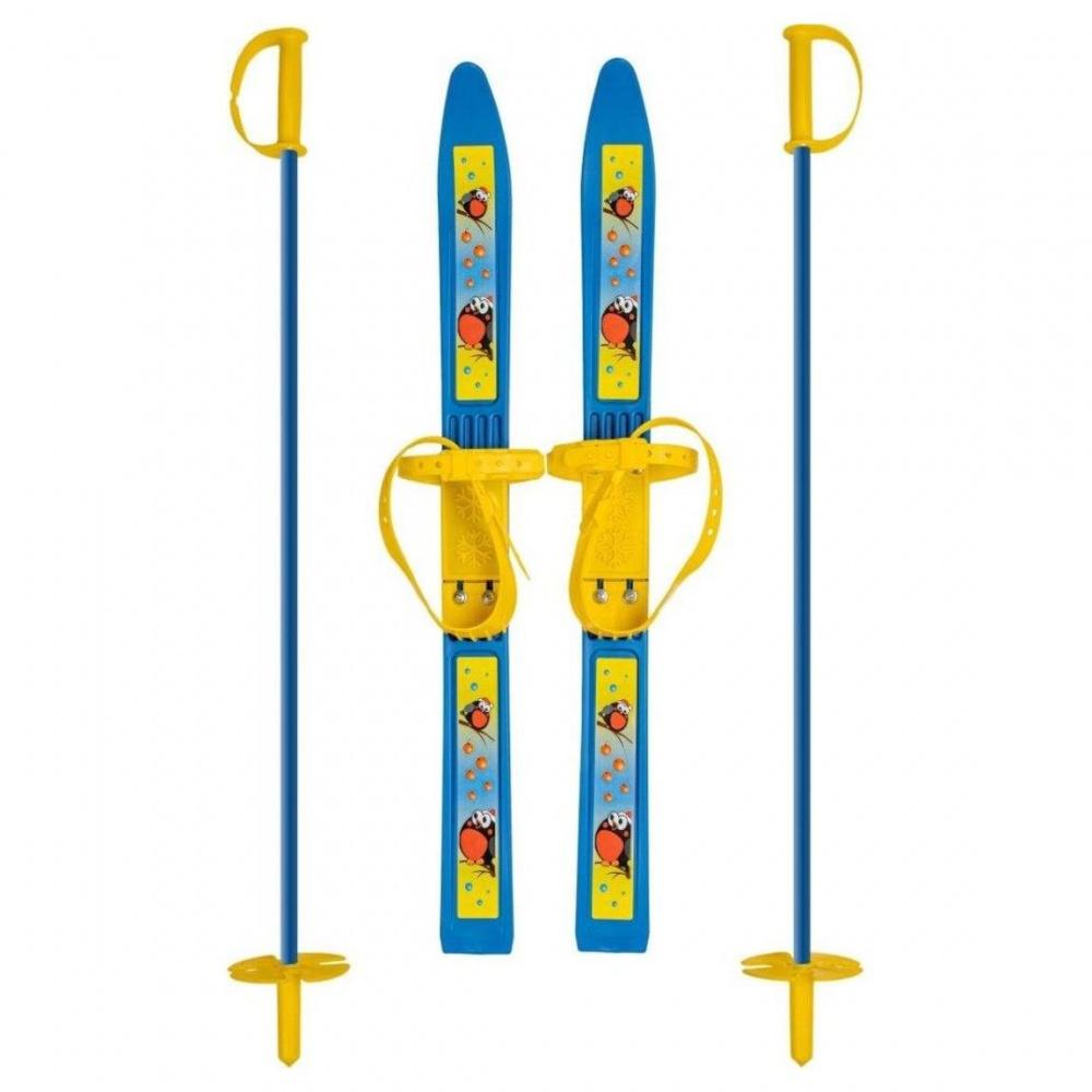 Лыжи детские пластиковые