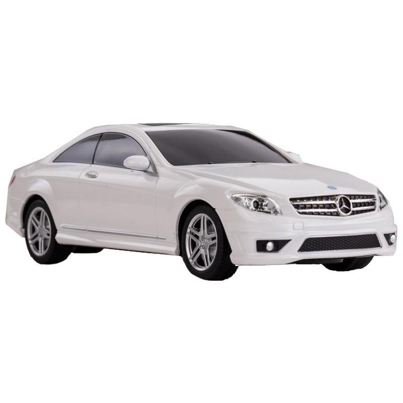 """Машина на радиоуправлении Rastar """"Mercedes CL63 AMG"""", цвет: белый, 40MHZ, 1:24"""