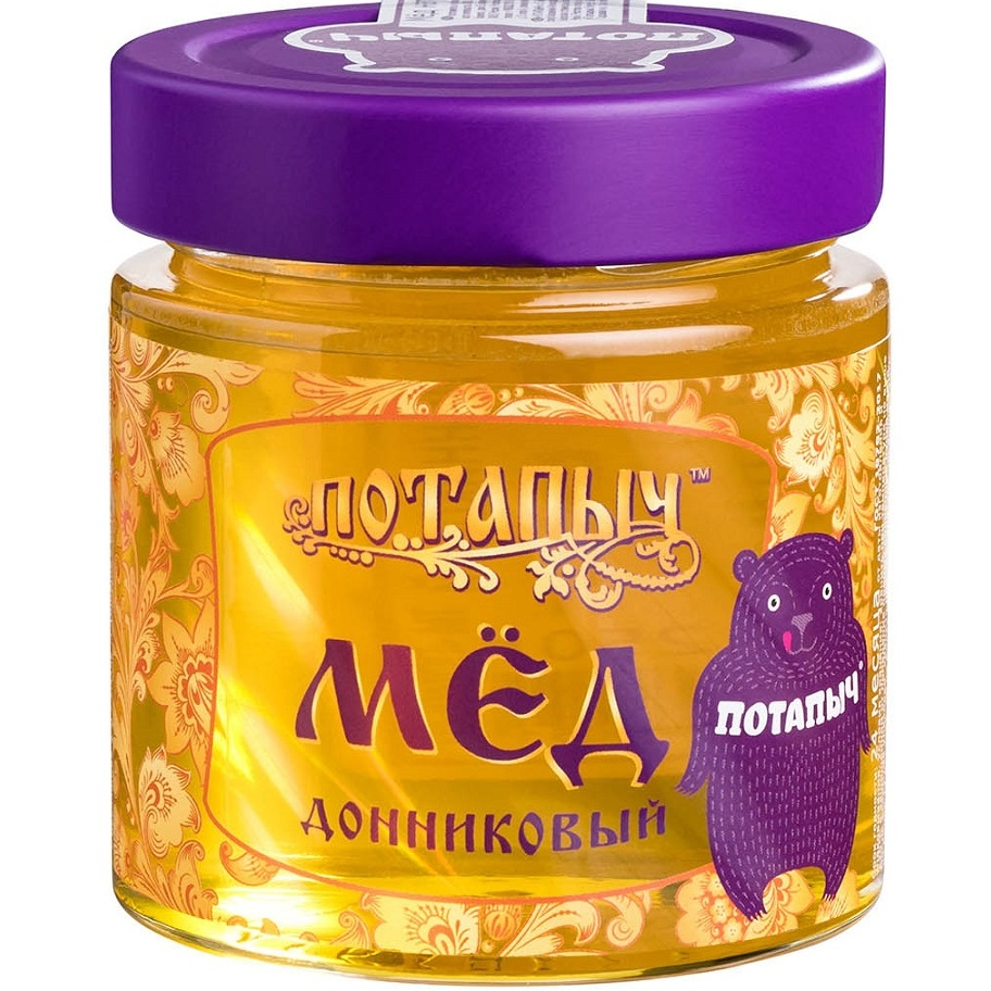 Мёд натуральный Потапыч