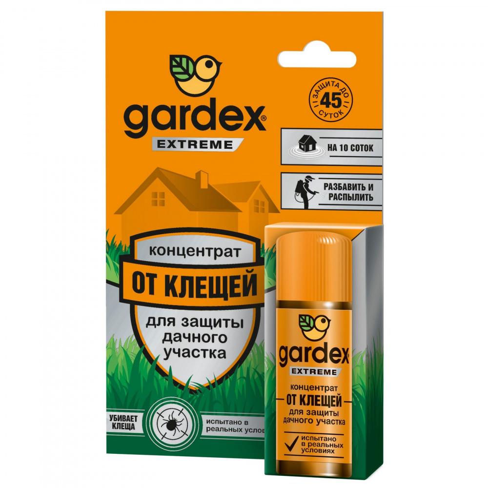 Концентрат для защиты дачного участка от клещей Gardex