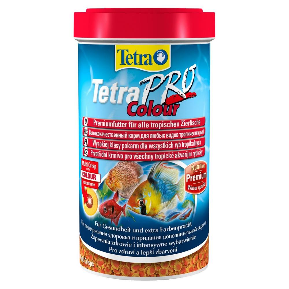 Фото - Корм для декоративных рыб Tetra Pro Color Crisps, для улучшения окраса, в чипсах, 500 мл tetra корм tetra pro color crisps чипсы для улучшения окраса всех декоративных рыб 100 мл