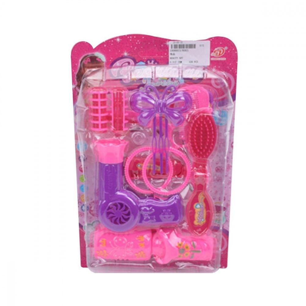 Игровой набор Стилист, в комплекте 11 предметов, ТМ Наша Игрушка (арт 8065) ролевые игры наша игрушка игровой набор стилист со светом 12 предметов