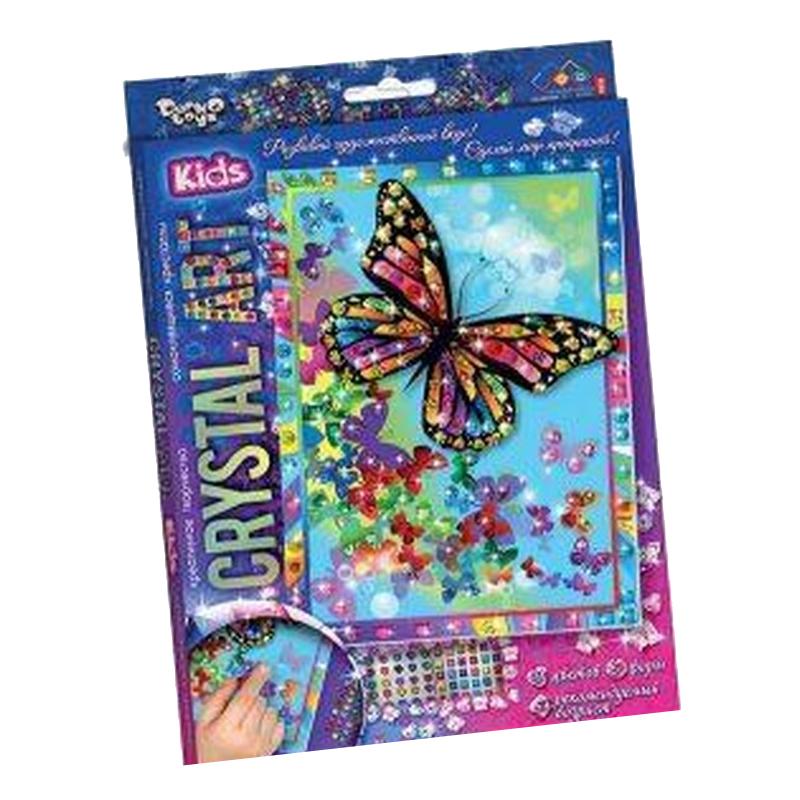 Набор креативного творчества Данко-тойс Crystal art | Бабочки