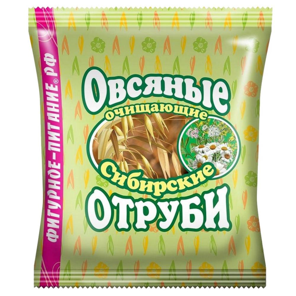 Отруби Сибирские Овсяные | Очищающие, 200 г отруби сибирские пшеничные с черникой 200 г