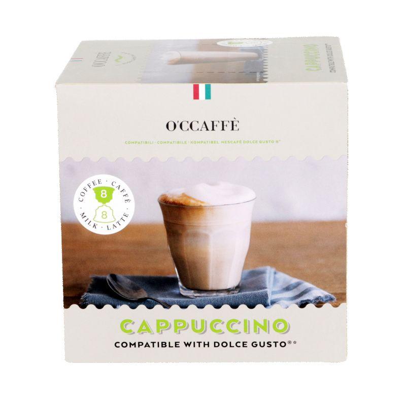 Кофе в капсулах O'CCAFFE Cappuccino для системы Dolce Gusto, 16 шт (Италия)