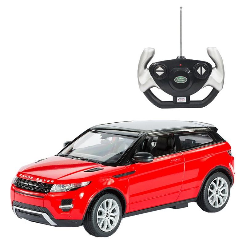 """Машина на радиоуправлении Rastar """"Range Rover Evoque"""", цвет: красный, 1:14"""