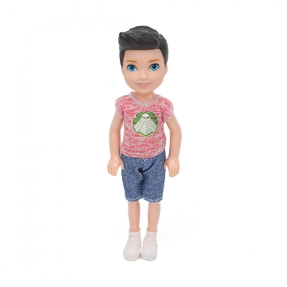 Фото - Кукла Наша Игрушка, 14 см (арт DB07-3) кукла наша игрушка на прогулке 15 см лошадка