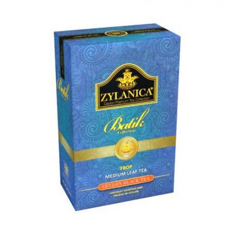 Чай Zylanica Batik Collection, чёрный листовой, FBOP, 100 г