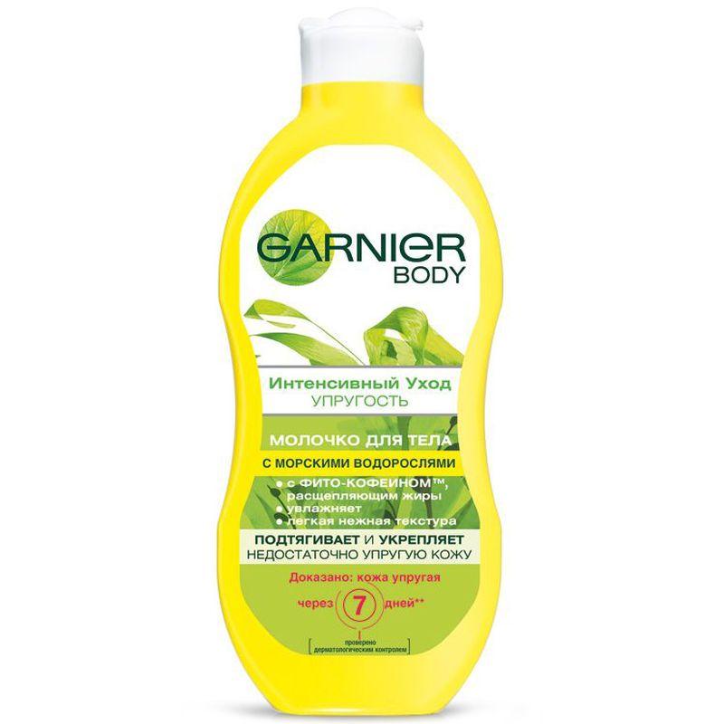 Фото - Молочко для тела Garnier Body   Интенсивный Уход/Упругость, тонизирующее, увлажняющее, 250 мл увлажняющее и тонизирующее молочко для тела bio vitamin c skin vitality booster effect 400мл