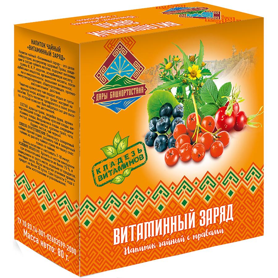 Чайный напиток Дары Башкортостана