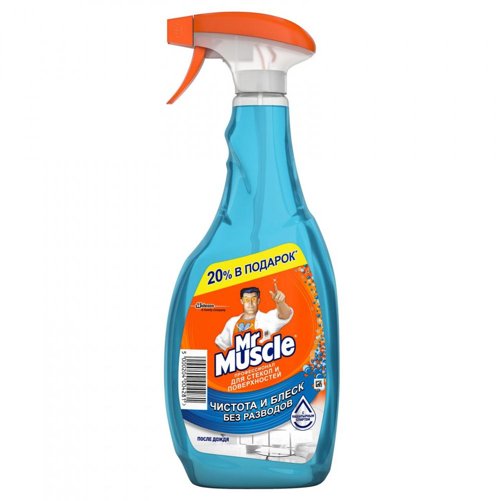 Средство для чистки стекол и поверхностей Mr Muscle