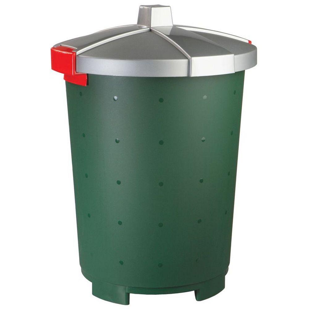 Фото - Бак хозяйственный Phibo Бинго, пластиковый, зеленый, 45 л бак бытпласт хозяйственный 65л