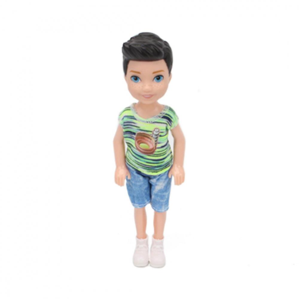 Фото - Кукла Наша Игрушка, 14 см (арт DB07-1) кукла наша игрушка на прогулке 15 см лошадка