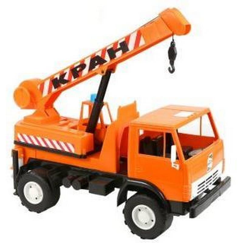 Автомобиль Orion toys Автокран Х2