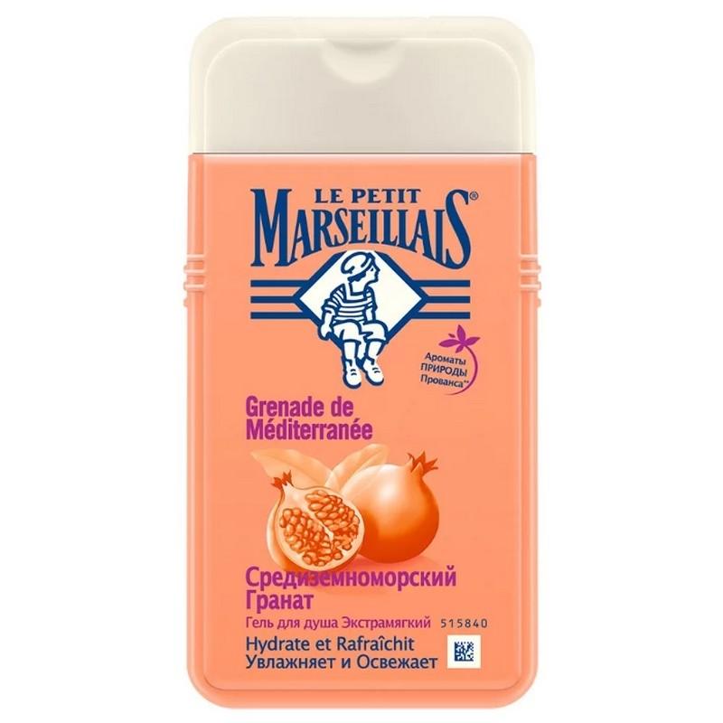 Гель для душа Le Petit Marseillais Средиземноморский гранат, 250 мл гель бальзам для душа le