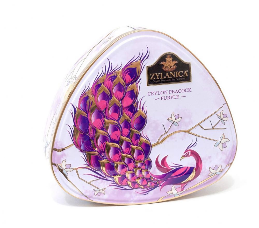 Чай Zylanica Ceylon Peacock, Purple, чёрный листовой, FBOP, 100 г