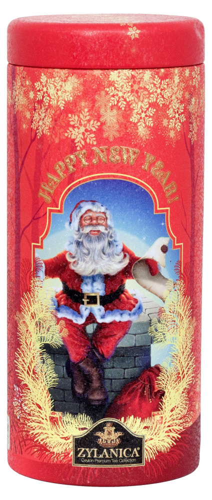 Чай Zylanica Happy New Year!, Red, чёрный листвой, OPA, 100 г