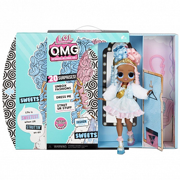 """Кукла L.O.L. Surprise """"OMG Doll Series 4 Sweets"""""""