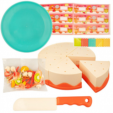 """Игровой набор продуктов Shantou Yisheng """"Праздничный торт"""""""