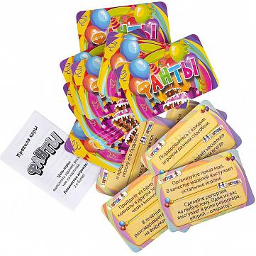"""Игра настольная Dream Makers """"Фанты. Cards"""""""