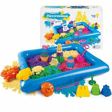"""Набор для творчества Genio Kids """"Умный песок c надувной песочницей"""""""