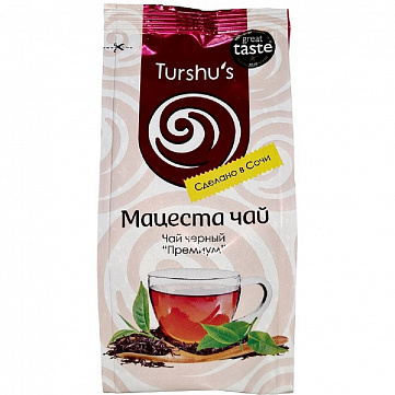 """Чай черный Мацеста """"Премиум"""", листовой, 100 г"""