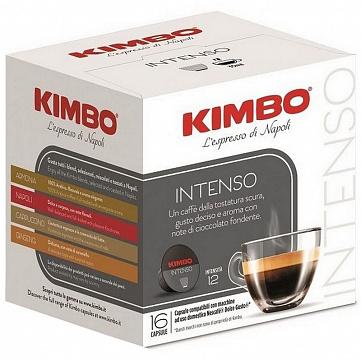 """Кофе в капсулах Kimbo """"Intenso"""", совместимые с кофемашинами Nescafe Dolce Gusto, 16 штук"""