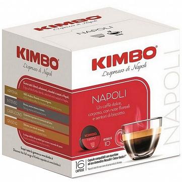 """Кофе в капсулах Kimbo """"Napoli"""", совместимые с кофемашинами Nescafe Dolce Gusto, 16 штук"""