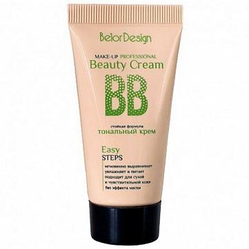 """Тональный BB крем Belor Design """"Beauty cream"""", тон 101, 30 г"""