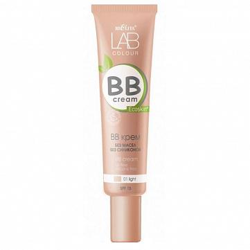 "BB крем Bielita ""LAB colour"", без масел и силиконов, тон 01 light, 30 мл"