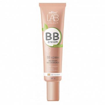 """BB крем Bielita """"LAB colour"""", без масел и силиконов, тон 03 medium, 30 мл"""